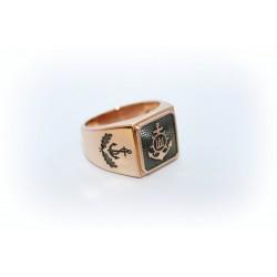 """Vyriškas auksinis žiedas """"Inkaras"""""""