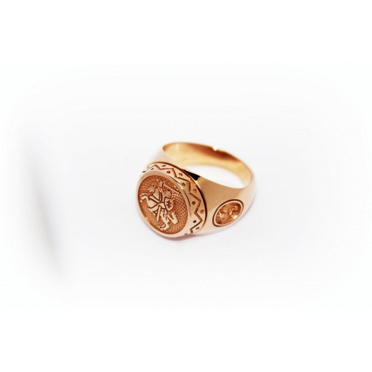 """Auksinis žiedas  """"Vytis"""""""